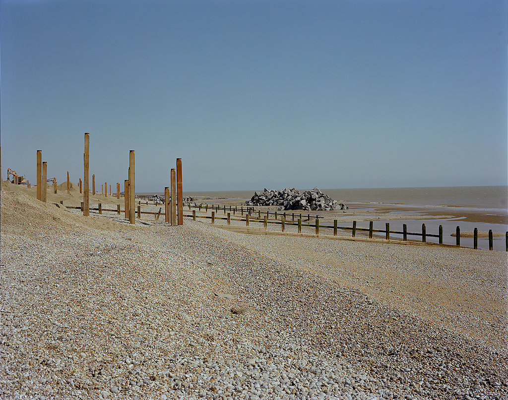 Liminal I - Winchelsea Beach, Kent, C-Type Hand Printed 40 x 31in / 102 x 79 cm (Edition of 30)
